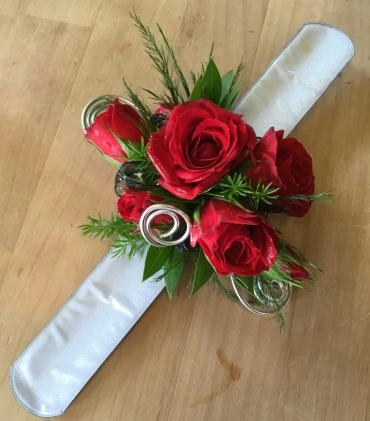 Red Rose Romance Corsage