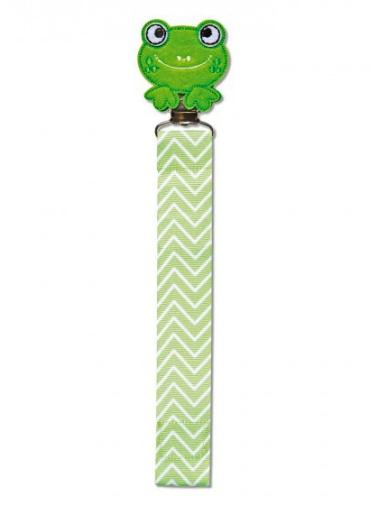 Pacifier Clip ~ Frog