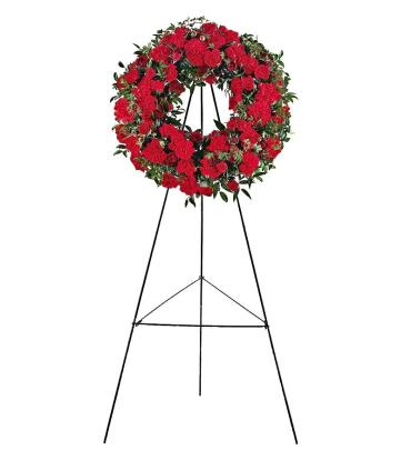Honored Celebration Standing Wreath