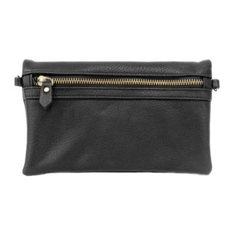 Zipper Clutch ~ Black