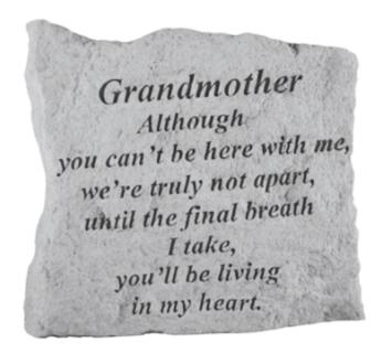 Grandmother, Although you...