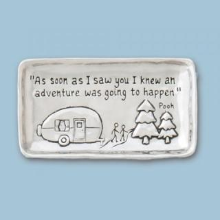 Pewter Tray ~ Camper