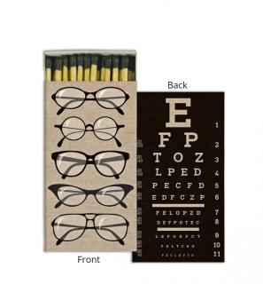 Matches ~ Eye Chart/Glasses