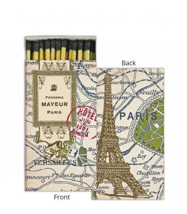 Matches ~ Map of Paris