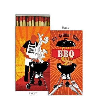 Matches ~ BBQ Grillin\' Time