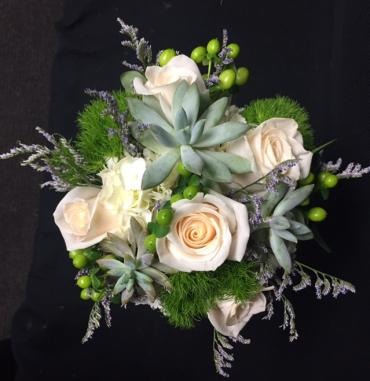 Succulent Love Bridal Bouquet