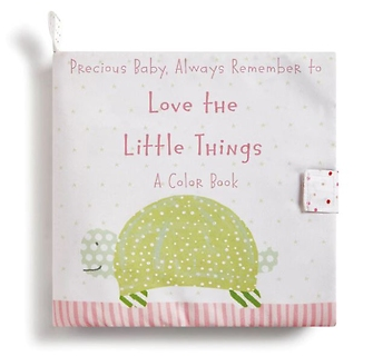 Love the Little Things Baby Book
