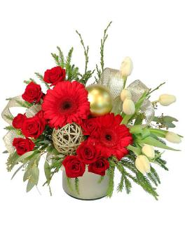 Festive Evergreen Bouquet